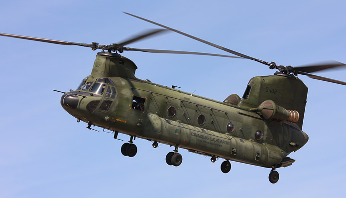 Chinook door Richard van Tilborg
