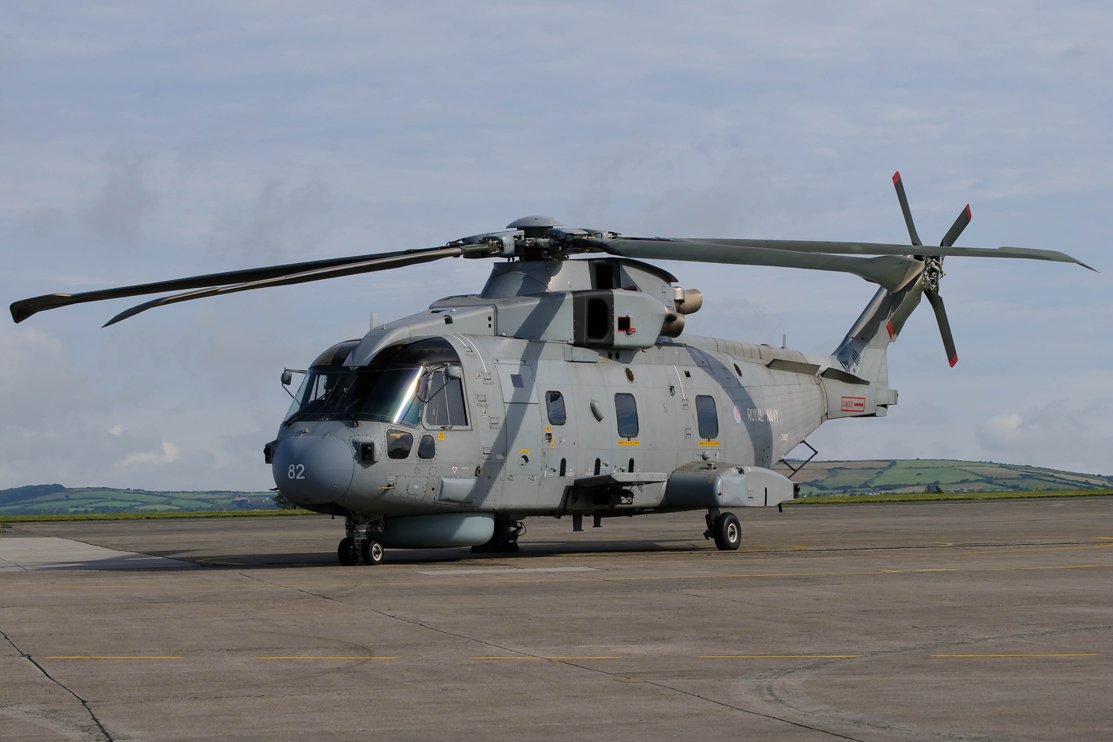 Gijs ten Velde--Merlin HM.1---RNAS Culdrose 19-07-2010